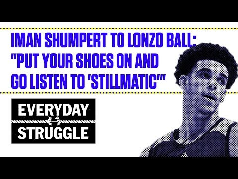 "Iman Shumpert to Lonzo Ball: ""Put Your Shoes on and Go Listen to"