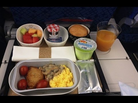 """Cathay Pacific """" New """" Economy Class A330-300 (CX161 Hong Kong - Sydney) Flight Review/Nov 2013"""
