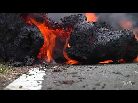 New Eruptions Injure Man in Hawaii