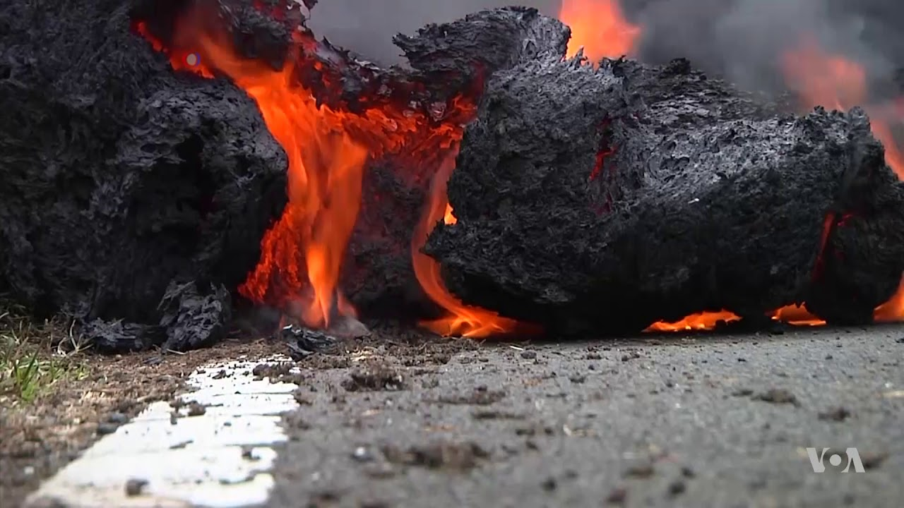 New Eruptions Injure Man in Hawaii