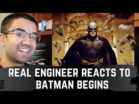 Real Engineer Reacts To Technology In Batman Begins