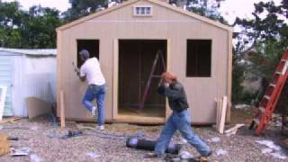 Shed Construction - Outback Wood Products