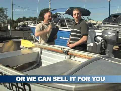 Trading in your old boat at John Crawford Marine