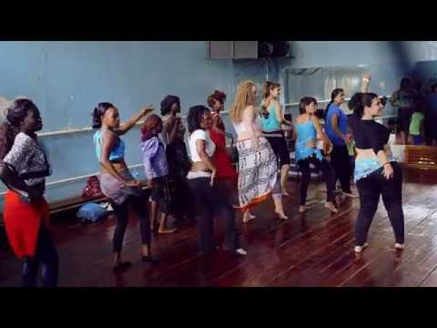 Bundi Films kenya  - Shiraz Irani at The Kenya Dance Academy