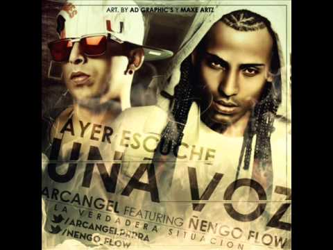 Arcangel Ft. Ñengo Flow - Ayer Escuché Una Voz (Video Music) (Original) 2013