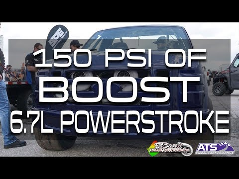 150 PSI of Boost on a 6.7L Powerstroke