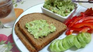 Healthy Dip -  Avocado Dip Recipe  - Healthy, Easy & Delicious