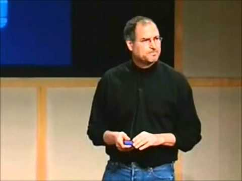 Steve Jobs' Best Video Moments on Stage (1/3)