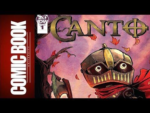 Canto #1 | COMIC BOOK UNIVERSITY