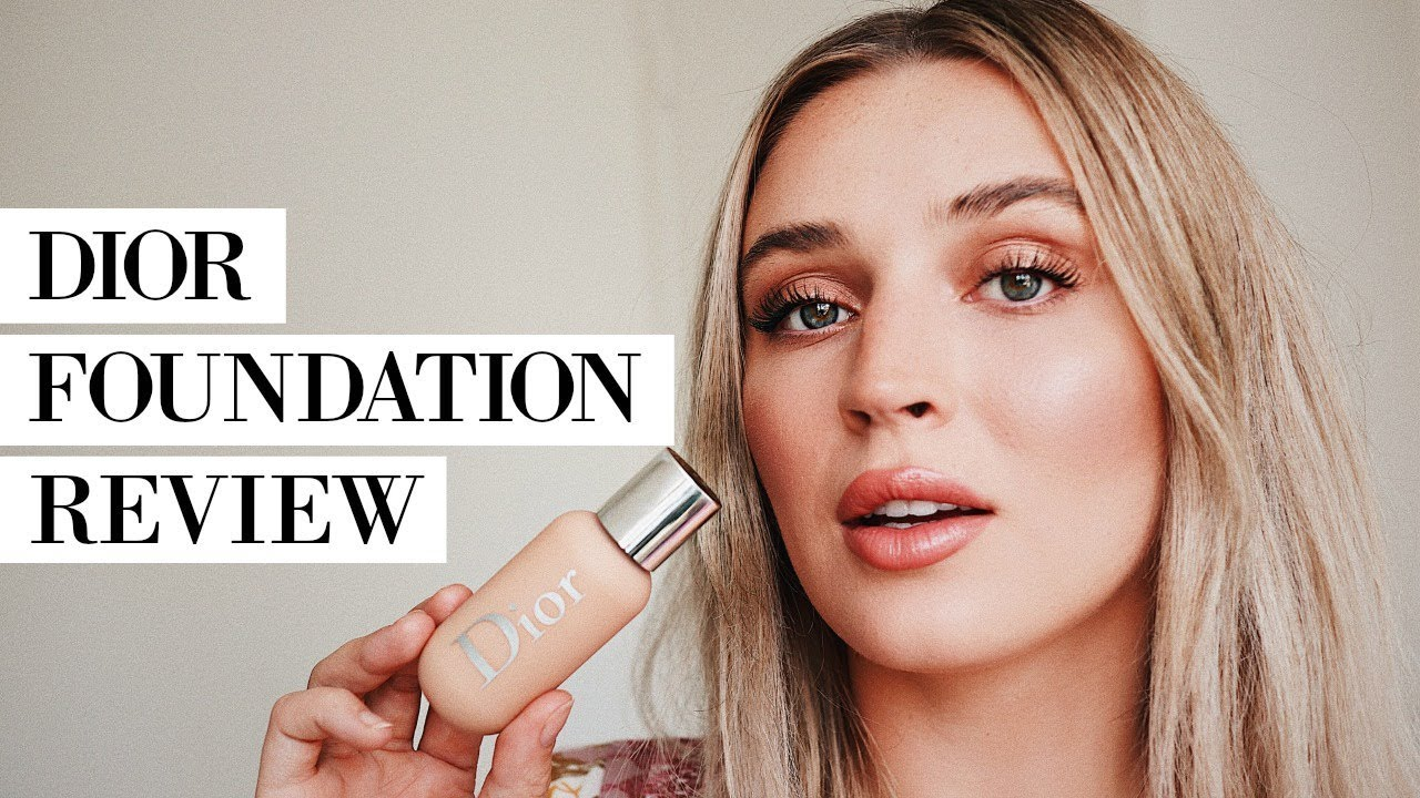 Dior Face  Body Foundation Review  Allanaramaa - Youtube-7311