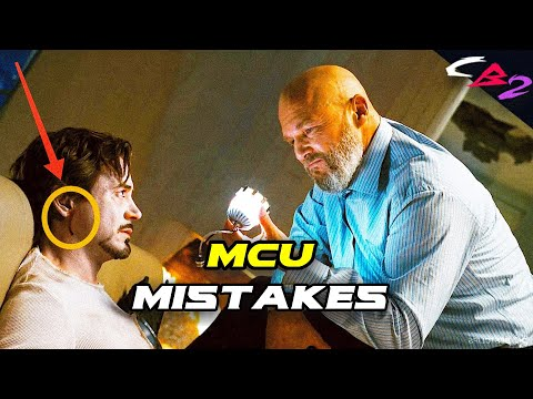 Top:10 Marvel Cinematic Universe's Movies Mistakes You Never Noticed | Captain B2