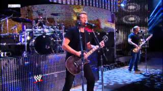 Repeat youtube video Nickelback Rockstar Live @ wwe