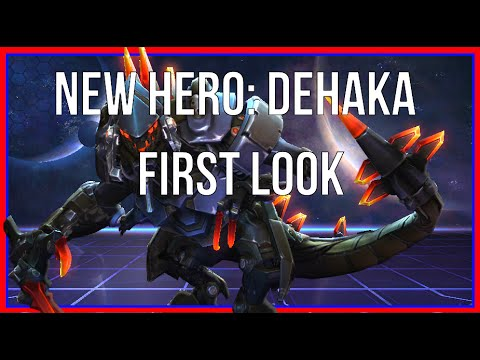 NEW HERO DEHAKA! First Impressions (Heroes of the Storm)