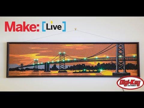 Make: Live - Arduino Traffic Tracker