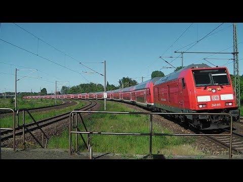 Weißenfels mit Südostbayernbahn, BR 155, ICEs/ICs, abellio vs. Taurus +y-Wagen auf RB20, BR 146, 143
