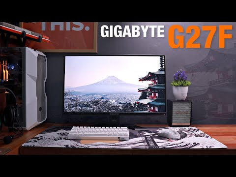 GIGABYTE G27F Gaming Monitor Review - Feature Packed!