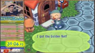 Animal Crossing: Golden Net Speedrun 39:06!!! [WR]