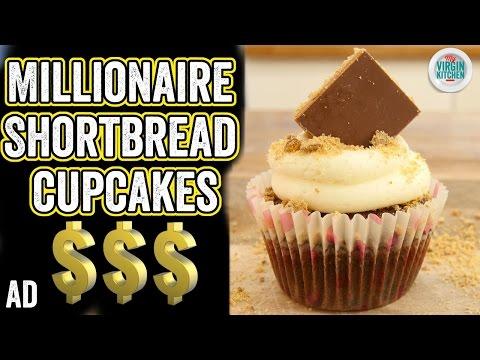 MILLIONAIRES SHORTBREAD CUPCAKES RECIPE #ad