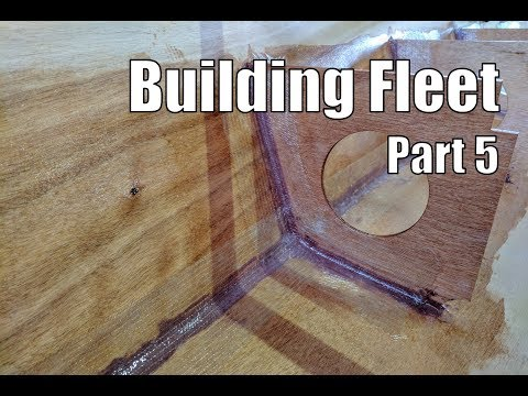 Building Fleet, a small wooden boat #5