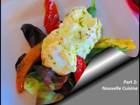 The History of French Cuisine Part 2 Nouvelle Cuisine  YouTube