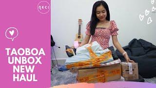 TaoBao Shopping - Unboxing HUGE TaoBao Haul