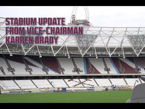 NEW STADIUM: Update from Vice-Chairman Karren Brady