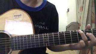 (Uyên Đinh) Những ngày vỡ đôi (Acoustic Guitar Solo)