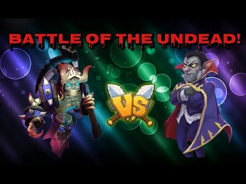 Castle Clash Battle Of The Undead!