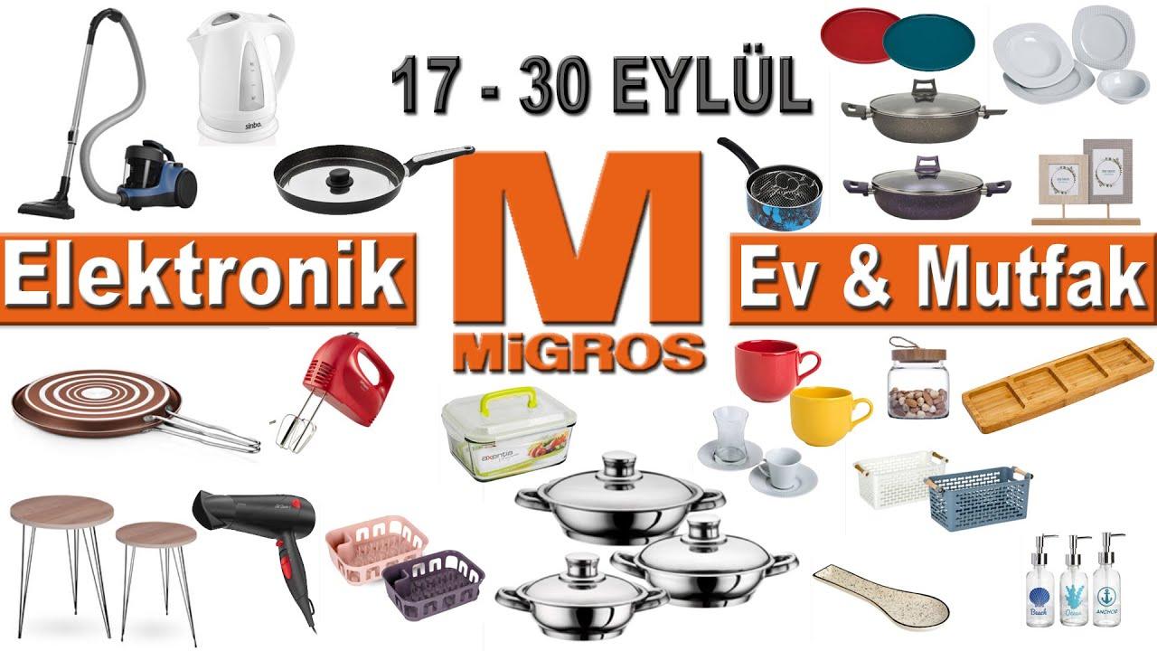 Migros 17 Eylül 2020 Ev Mutfak Ürünleri | Migros Bu Hafta İndirimleri | Migros Aktüel | Migroskop
