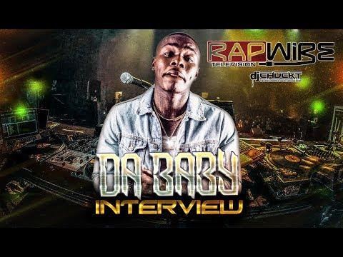 Da Baby Interview | RapWireTV (Beats Bars & Blends) @DaBaby @DJChuckT