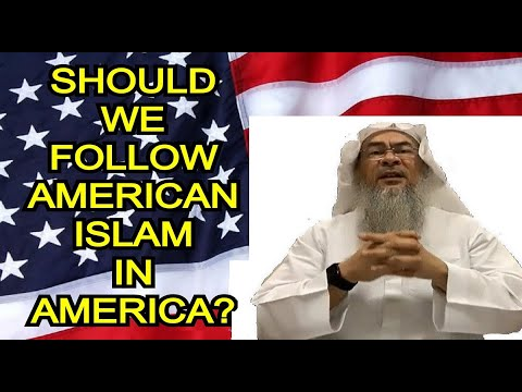 Should we follow American Islam in United States? By Sheikh Assim Alhakeem