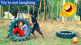Must watch new funny😂😂 comedy videos 2019 Episode 10 || Very funny videos || My family ||