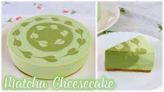 Cách làm cheesecake trà xanh (matcha) - Món bánh không dùng lò nướng và không dùng máy đánh trứng