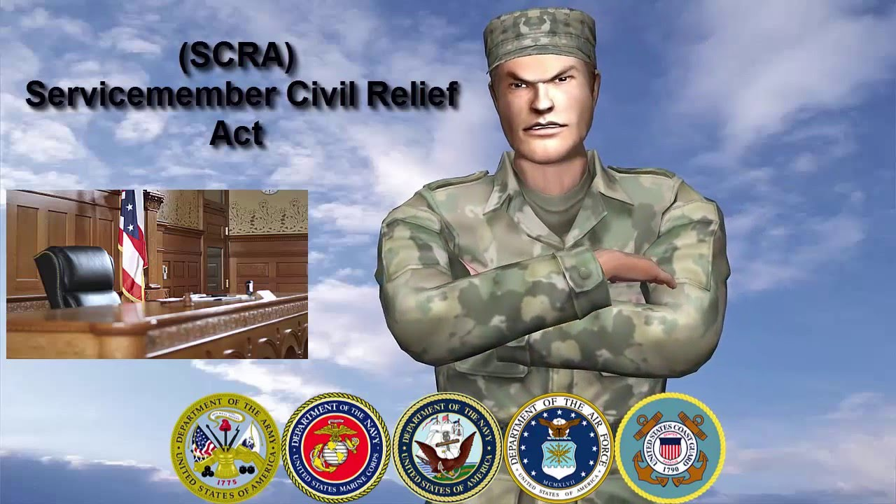 Servicemembers Civil Relief Act Scra Civil Rights Attorney Youtube