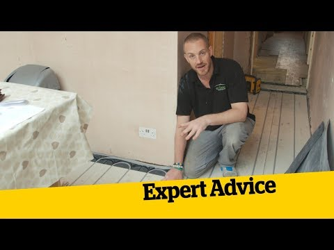 Fitting Underfloor Heating; How To Build An Extension (14)