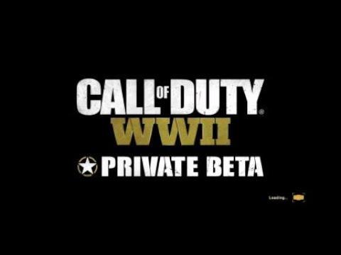 Call of Duty®: WWII Private Beta Core Kill Streak