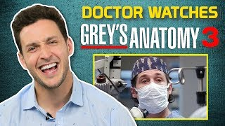 Real Doctor Reacts to GREY'S ANATOMY #3 | Medical Drama Review