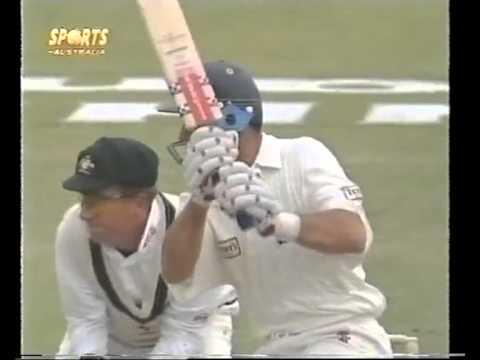 Nasser Hussain 207 vs Australia 1997 Ashes 600th English ton in test history