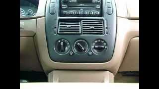 Repeat youtube video 02 Ford Explorer Heat Blend Door Actuator Simple Fix - No Tools Needed