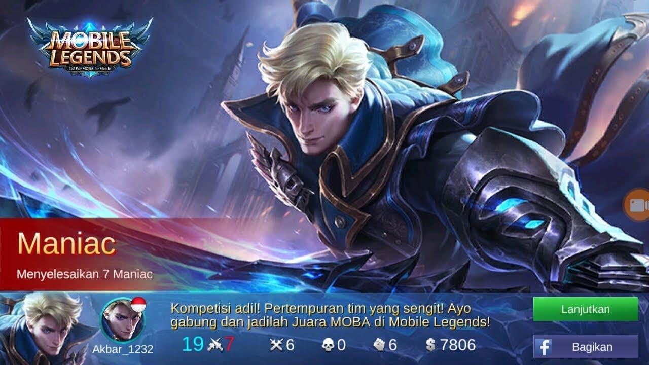 4 Vs 1 Alucard Mobile Legends Maniac Kill