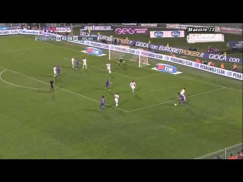 Highlights Fiorentina 1-2 AC Milan - 10/04/2011