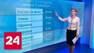 Сложные метеоусловия привели к многочисленным авариям на дорогах - Россия 24