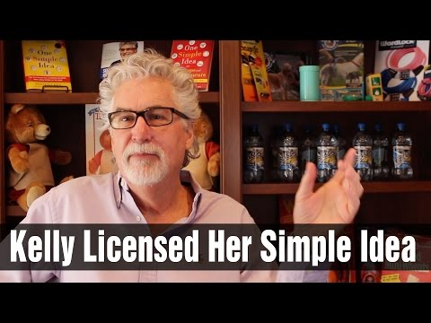 Congratulations Kelly on Licensing Your Simple Idea!
