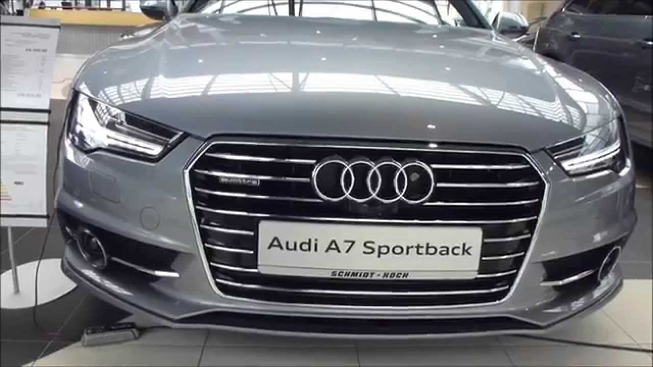 2015 audi a7 sportback 39 39 s line 39 39 3 0 tdi quattro 272 hp s tronic exterior interior see. Black Bedroom Furniture Sets. Home Design Ideas