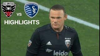 Wayne Rooney vs Sporting Kansas City Highlights | D.C. United vs Sporting KC 12/05/2019