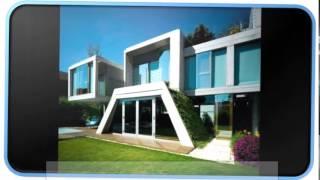 Blue Modern Garden House