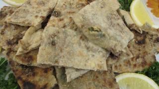 Gozleme Camp Style Lamb Feta & Spinach  Filling
