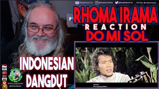 Rhoma Irama Reaction - Do Mi Sol - First Time Hearing - Requested