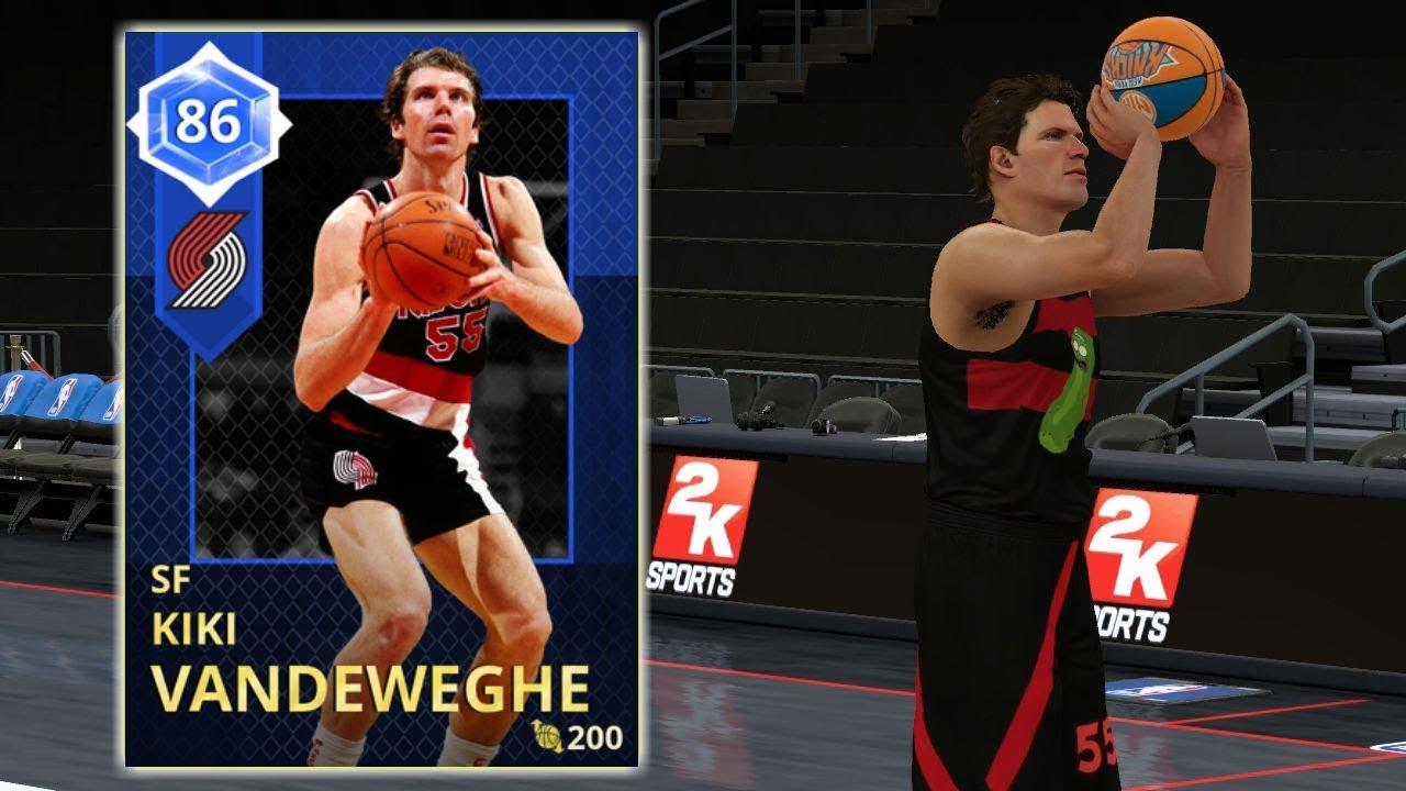 NBA 2K18 MYTEAM NEW SAPPHIRE BEAST KIKI VANDEWEGHE