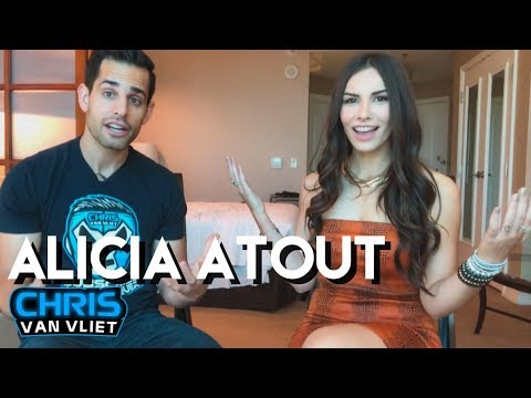 Alicia Atout on creepy DMs, dating a wrestler, AEW, her dream interview, how she got started